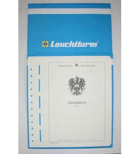 Leuchtturm Nachtrag Österreich 2014 mit Klemmtaschen  für Briefmarken