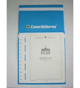 Leuchtturm Nachtrag BRD Bund 2015 mit Klemmtaschen  für Briefmarken