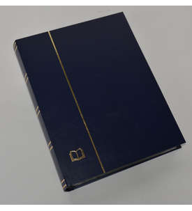 GOLDHAHN-Luxus-60 schwarze Seiten A4 Briefmarkenalbum Einsteckbuch Briefmarke
