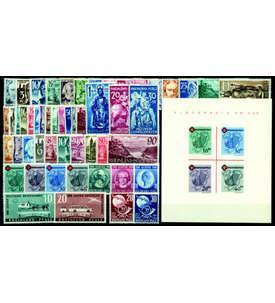 SET: Französische Zone Rheinland-Pfalz - Postfrische Komplettsammlung Briefmarke