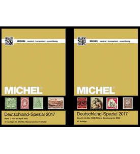 Set:MICHEL Deutschland-Spezial 2017 Band 1+2 komplett Original 1A-Neuware Katalog