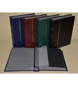 Briefmarkenalbum, Einsteckbuch, Einsteckalbum, 60 schwarze Seiten -5er Karton  für Briefmarken