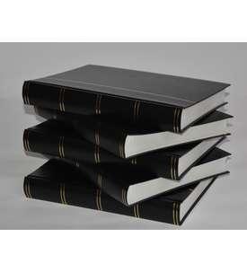 Briefmarkenalbum, Einsteckbuch, Einsteckalbum, 60 weiße Seiten -5er Karton  für Briefmarken