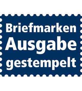 Deutsches Reich Zusammendruck S127 gestempelt Hindenburg 1934/1936 (3+5) Briefmarke